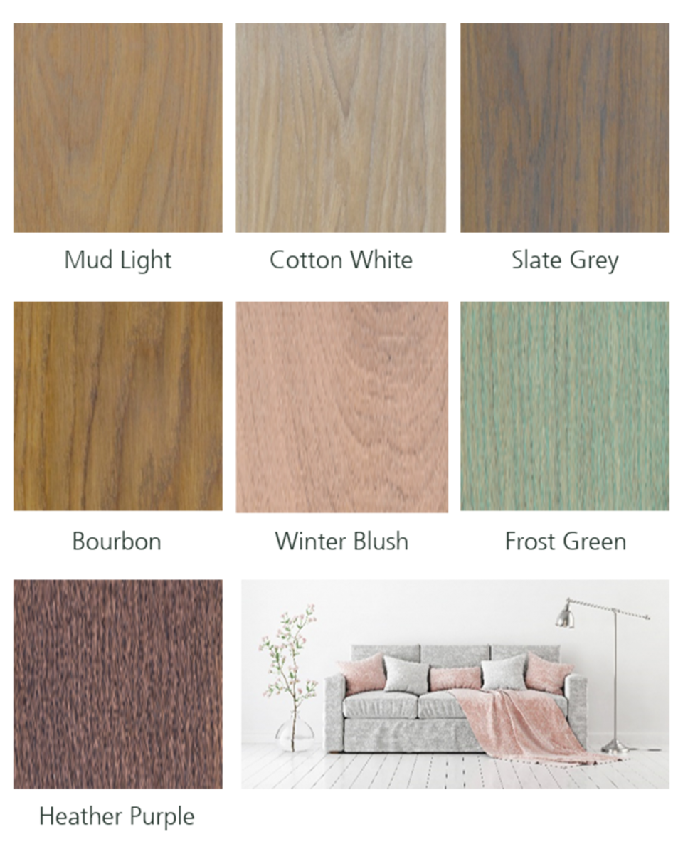 rubio monocoat : new colour trends 2018